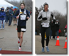 [Photo: 2008 Mad City 100K Solo Champions, Michael Wardian & Carolyn Smith]