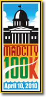 [Logo: 2010 Mad City 100K]